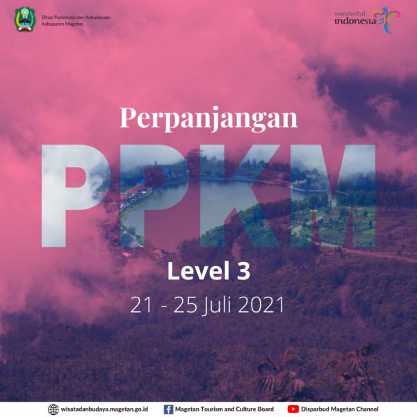 Instruksi Bupati Magetan Nomor 15 Tahun 2021 Tentang Pemberlakuan Pembatasan Kegiatan Masyarakat Level 3 Coronavirus Disease 2019 di Wilayah Kabupaten Magetan